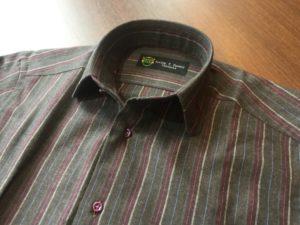 オーダーシャツ ラウンドカラー2