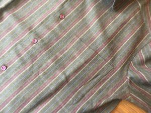 オーダーシャツ 胸ポケット
