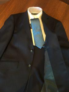 入園式 ブルー ネクタイ