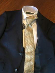 入園式 ゴールド ネクタイ