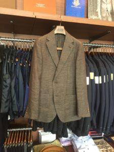 COMME CA MEN(コムサメン)の仕立てのいいジャケットの持ち込み修理。in横浜スーツ専門店のナガサカ