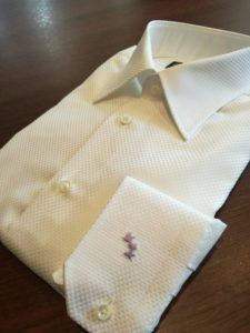 コウモリ刺繍