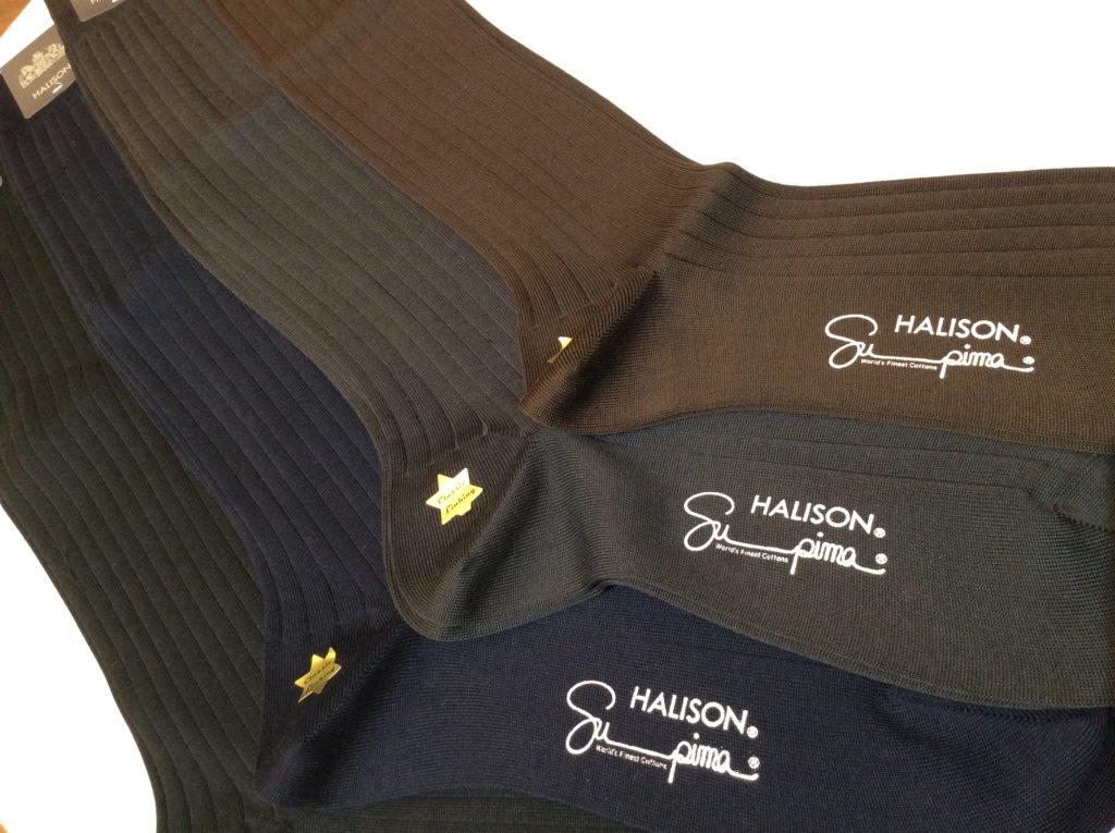 紳士の必需品「ハリソンのロングホーズ(長い靴下)」のご紹介