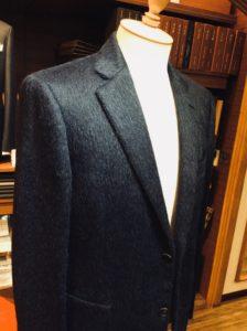 アルパカとウールのミックス素材。究極のゼニアのジャケット
