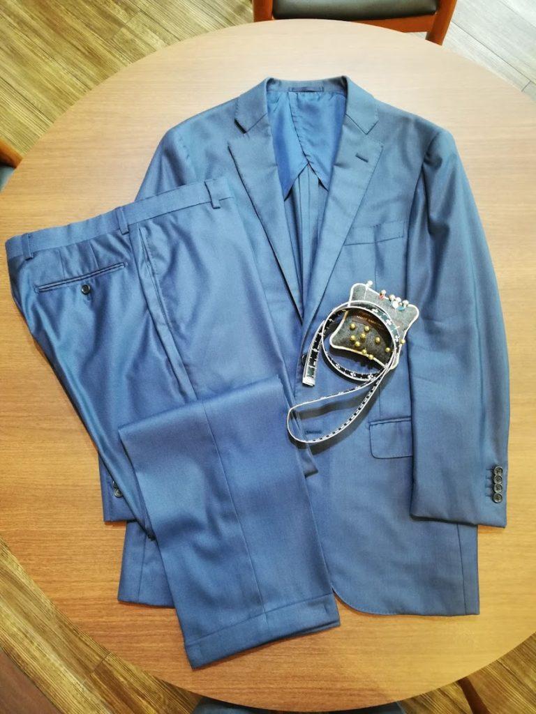 シップスで買ったロロピアーナのスーツをリフォームで今風に蘇らせる方法!