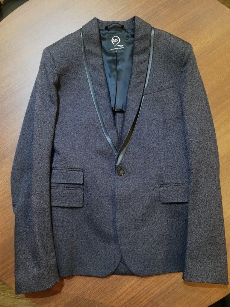アレキサンダーマックイーンのジャケットのリフォーム