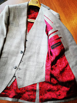 成人式用のスーツの出来上がりのご紹介です