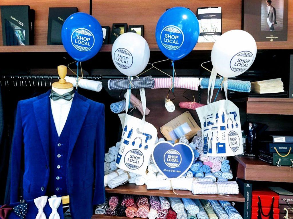横浜オーダースーツのナガサカは「SHOP LOCALショップローカル」キャンペーンの参加店です!