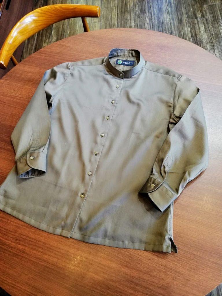 レディースのカジュアルシャツのオーダー事例
