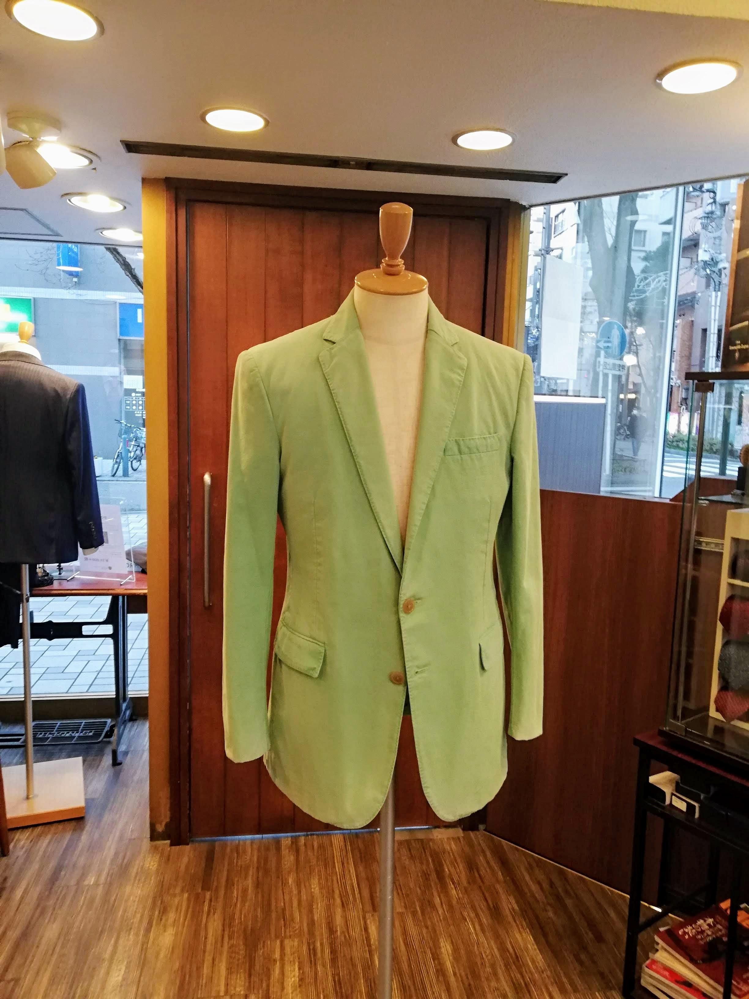 ラルフローレンのジャケットのリフォーム事例